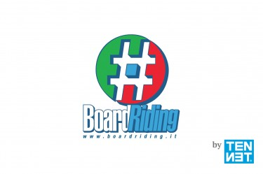 Logo design, corporate identity e web marketing – #BoardRiding ASD